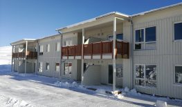 new 10 apartment building in Hammerfest
