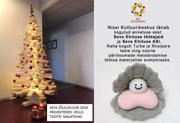 82281ff7521 Toetasime jõulude eel üheskoos laste ja noorte huvitegevust - Seve