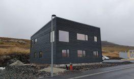 New house in Tórshavn