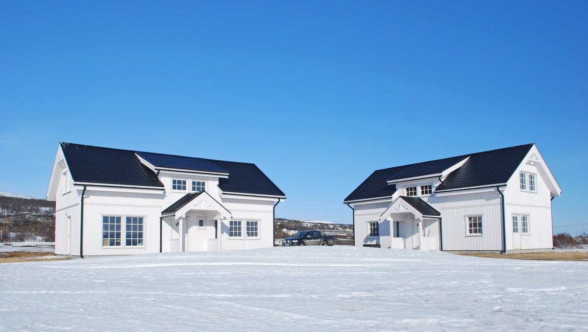 Villa külalistemaja ja garaaziga