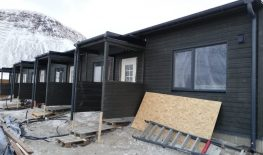 New houses in Isafjordur