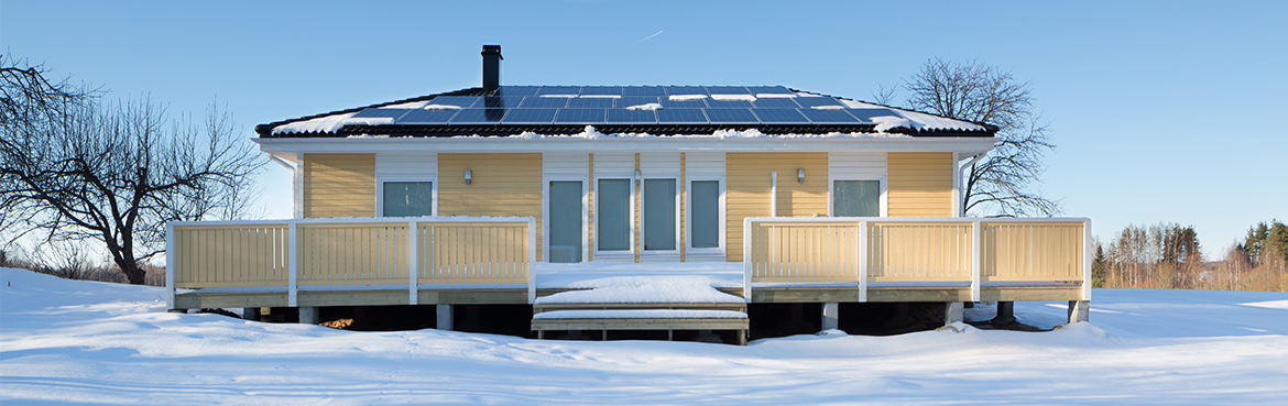 The House Produces 1 KWh/m2 More Power Per Year Than It Consumes, I.e. The  Annual Heating And Electric Bill Is Smaller Than The Annual Power  Production Per ...